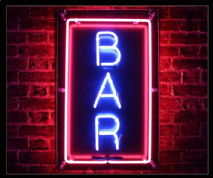 Hire neon signs bar neon sign 3 aloadofball Image collections